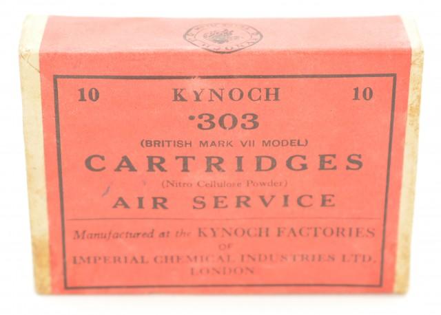 Kynoch .303 Air Service Cartridge Full Box Ammunition