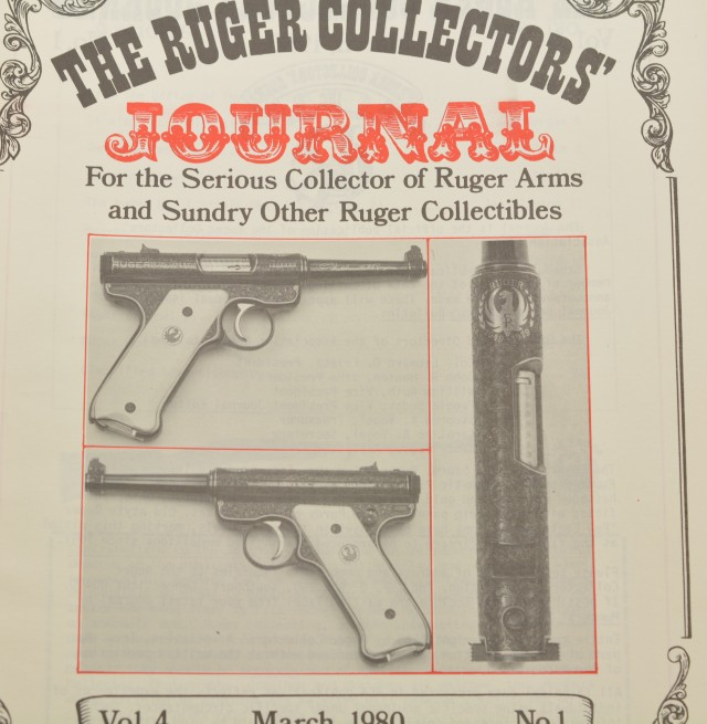 Ruger Collectors' Journal Vol 1 – Vol 7 1977 to 1983