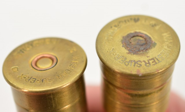 Lot of 2 Collector Industrial 8 Ga Shells Winchester