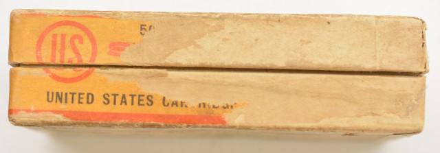 Scarce Box US Cartridge Co. 380 Ammo