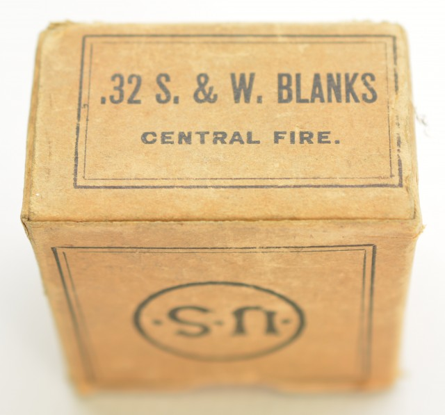 Early US Cartridge Co. 32 S&W Blank Ammo