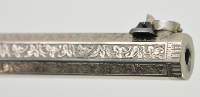 Incredible Cased Engraved Tranter Saloon Pistol (Published)