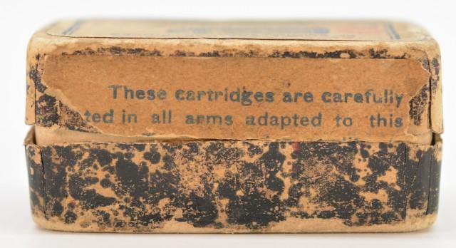 Remington UMC 1911 Split Logo Full Box 22 LR Collector Ammunition