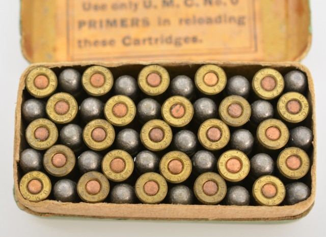 Early UMC 32 S&W Full Box Smith & Wesson Call Out Ammo