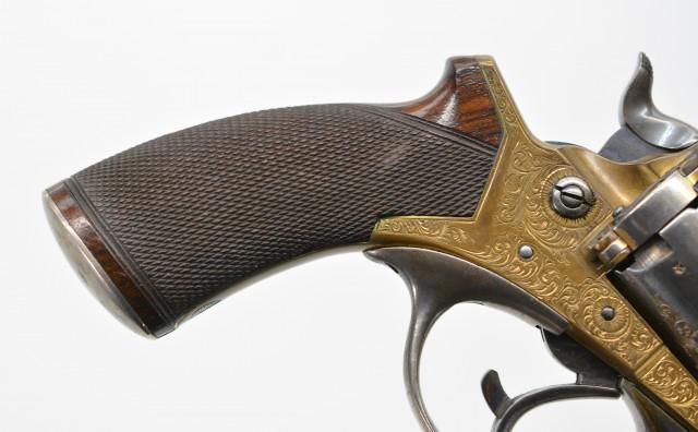 Tranter Model 1868 Solid-Frame DA Revolver by Stephen Grant