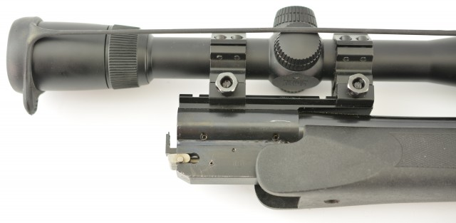 T/C Encore Rifle Barrel in .17 HMRF with Nikon Scope