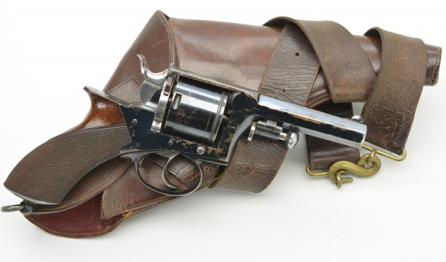 Improved Tipping & Lawden Type Revolver by Whistler w/ Snake Belt Rig