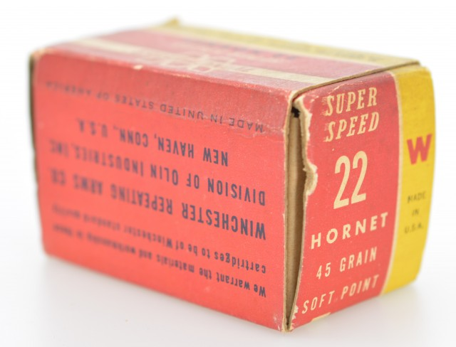 Winchester Super Speed 22 Hornet 45 GR Soft Point Ammo