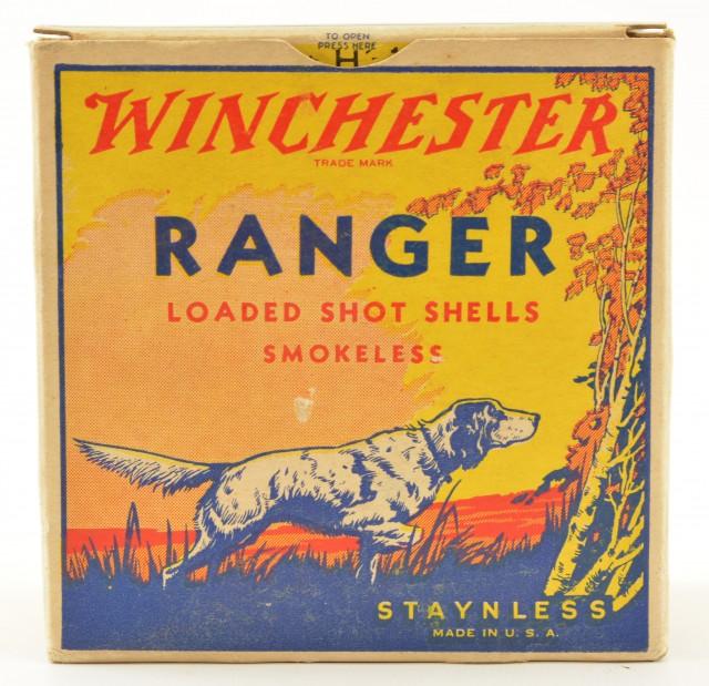 Full Box Winchester Ranger Pointing Dog Box 12 GA Ammo