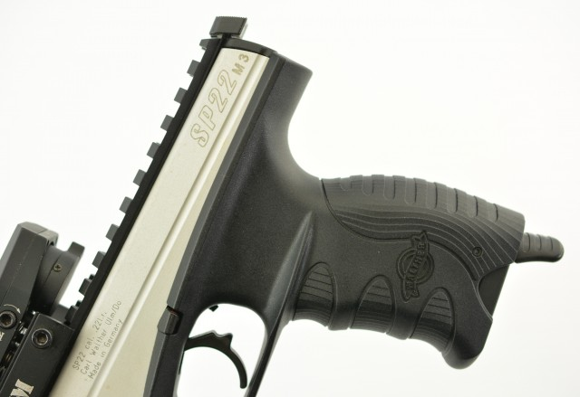 Walther SP22-M3 Target Pistol 22 LR Germany S&W AIM Red Dot
