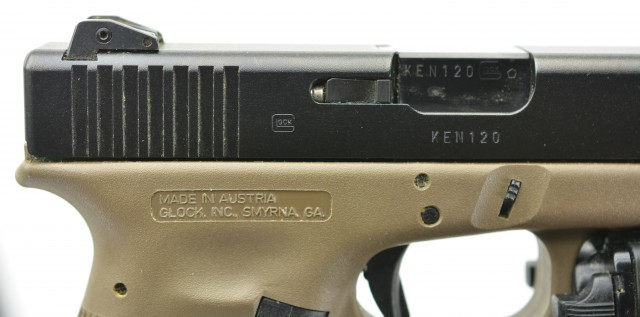 Gen 3 OD Frame Glock 17 Pistol 9mm M6 Tactical Laser Light 2 Mags