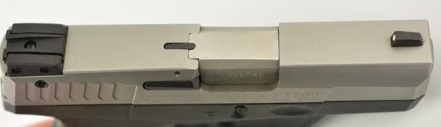 Taurus PT-709 Slim 9mm DA/SA 7+1 Pistol Stainless 4 Mags LNIB