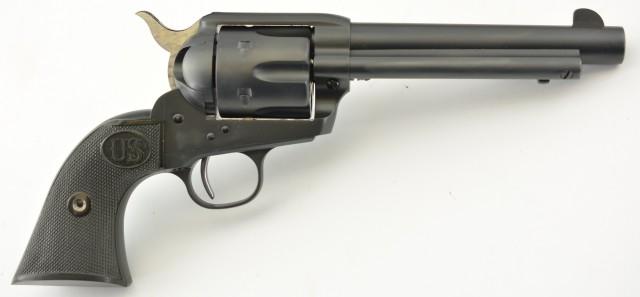 USFA Consecutive Pair of Long Hunter Rodeo Single Action Revolvers