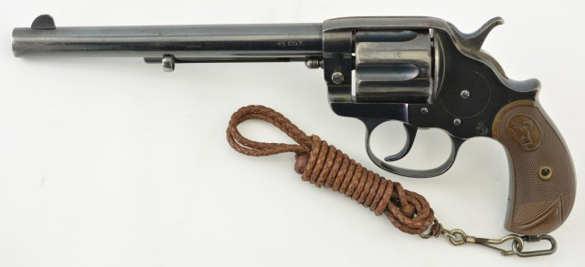 Canadian Military Purchase Colt Model 1878 Revolver (Boer War Purchase
