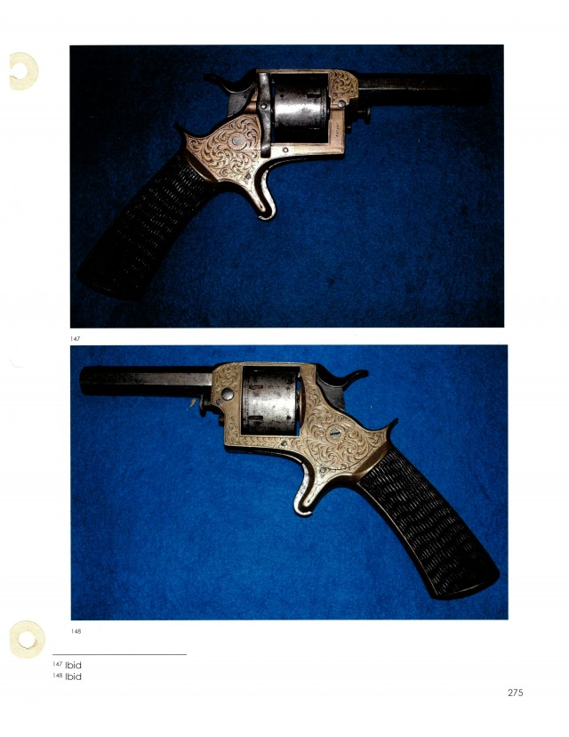 Published British Tranter Type Revolver by Williamson Bros