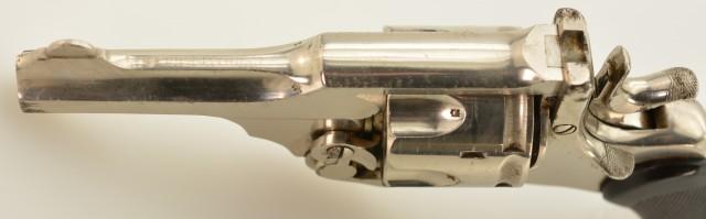 Rare Webley Mk. III .38 1st Pattern Revolver With Folding Trigger