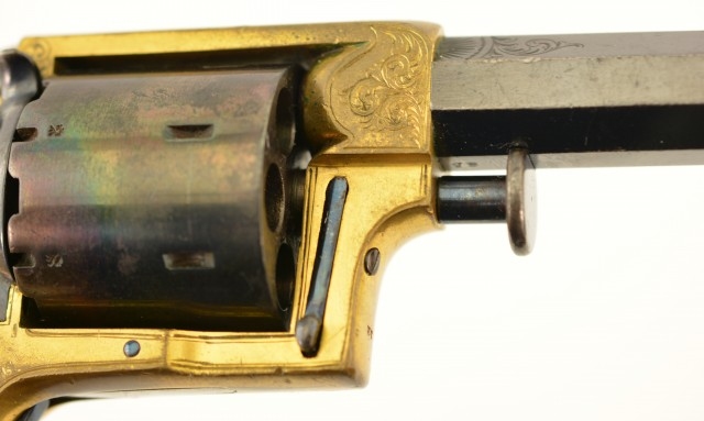 Cased Tranter No. 2 Seven-Shot Sheath-Trigger Revolver (Liverpool Reta