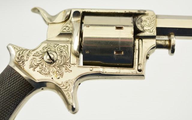Cased Tranter No. 2 Sheath-Trigger Revolver by Cogswell & Harrison