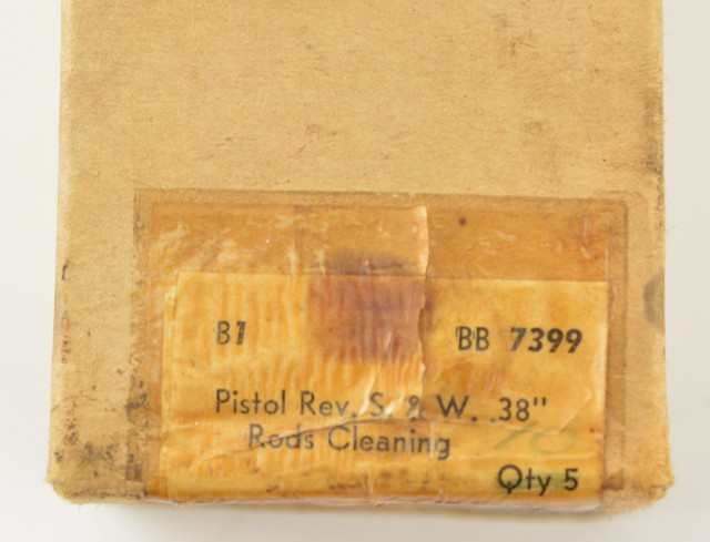 WW2 British .38 S&W Victory Model Cleaning Rods in Original Sealed Box