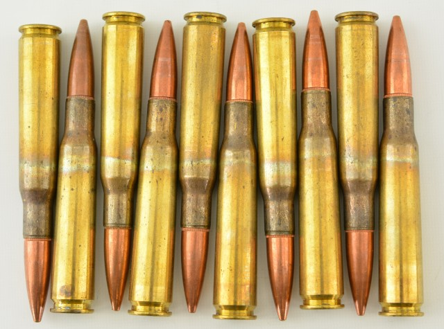 50 BMG Ammo 10 Rounds Surplus Ball Ammo
