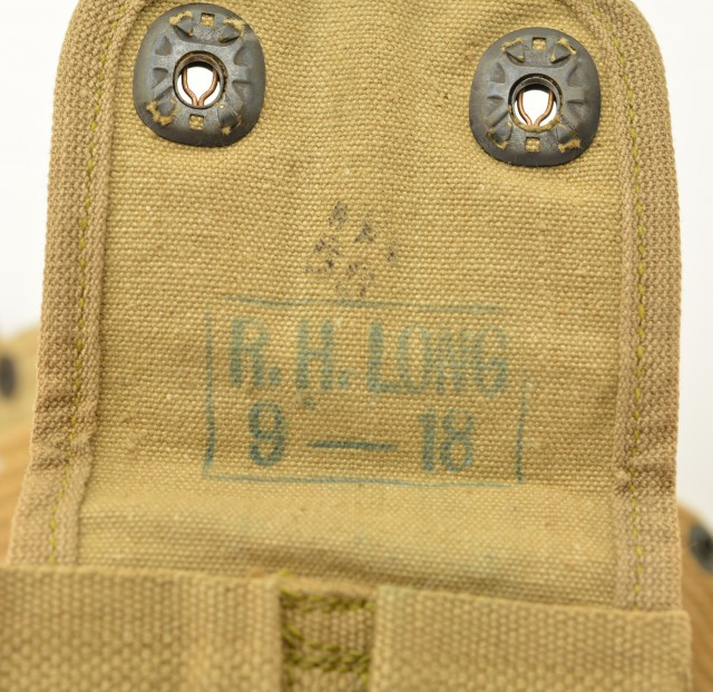 WWI Model 1914 Mounted Cartridge Belt With M1911 Pistol Pouch