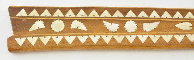 Well Made Commemorative Philippine Kris Sword Knife Inlay