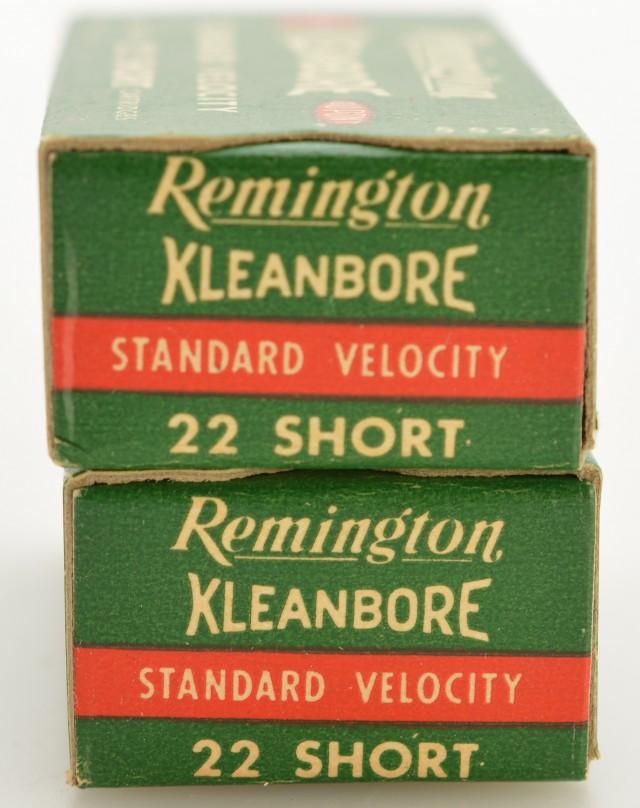 Remington 1946 Standard Velocity Kleanbore 22 Short 500 Rds. Exc.
