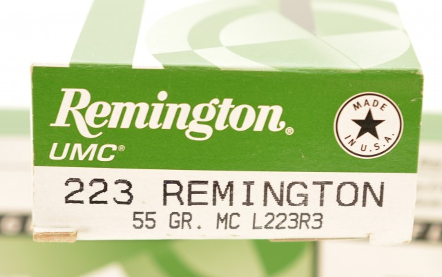 Remington UMC 223 Ammo 55 Grain MC Bullets 60 Rounds