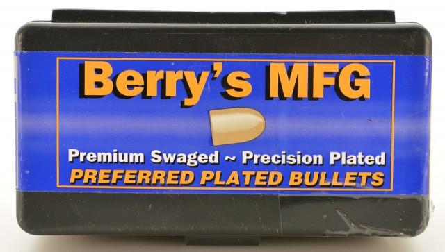 Berry's Reloading Swaged Plated Bullets 44 Mag/SPL 240 GR 200 Pieces