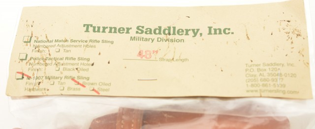 CMP M-1907 Military Rifle Sling 48 Inch Leather NOS Excellent