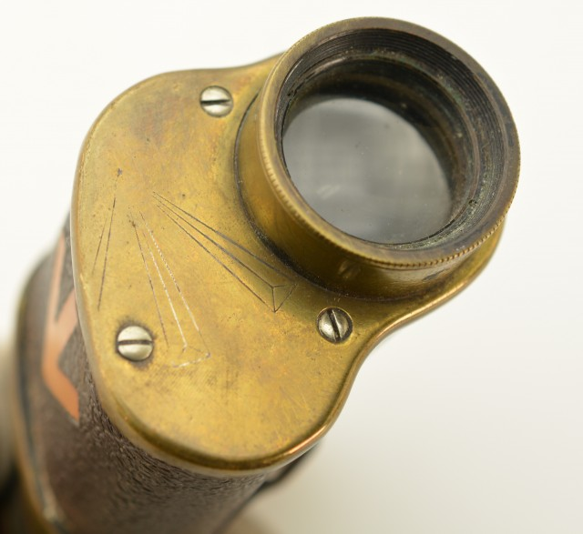 British Military Monocular by A. Kershaw & Son Broad Arrow Marked