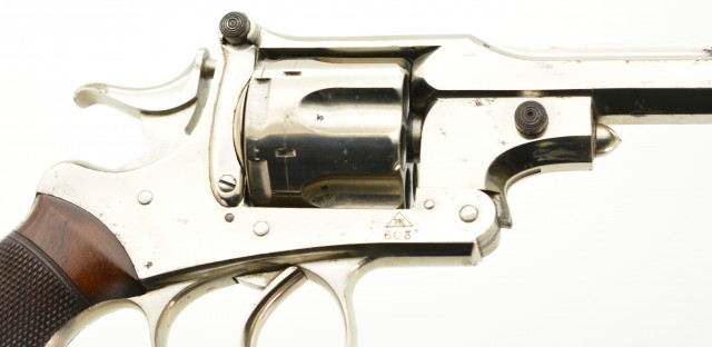 Webley-Kaufmann 2nd Model Revolver in French-Fit Case