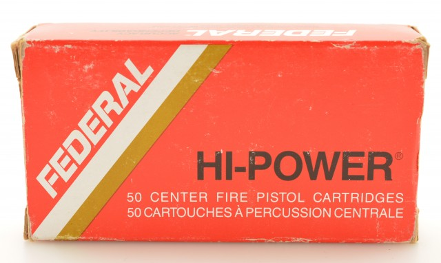 Full Box Federal 9mm Luger Ammo 115 Grain JHP Hollow Point