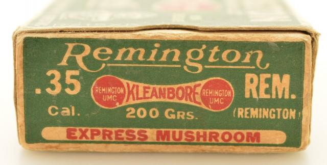 Desirable Remington Express Double Train Box 35 Rem Ammo