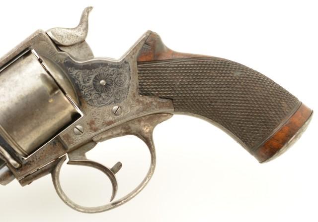 Tranter Model 1868 Revolver in .500 Caliber by Jas. Beattie & Son (Pub