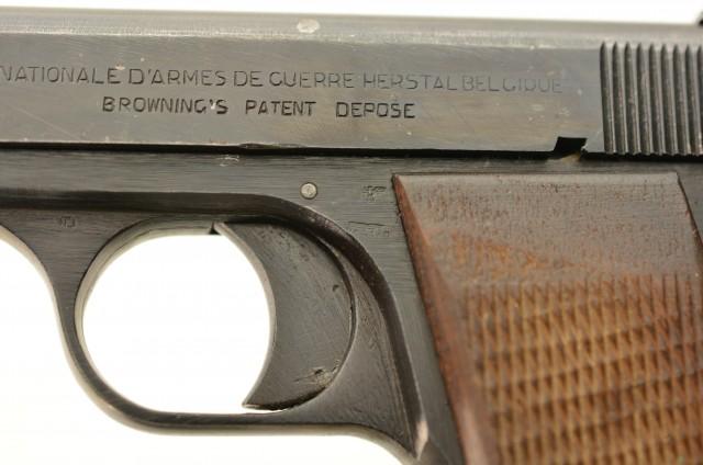 WW2 German Model 1910/22 Pistol by Fabrique Nationale
