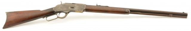 Winchester Model 1873 Third Model Rifle in .32 W.C.F. (Antique)