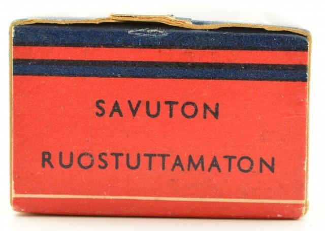 "Lapua 22 LR Box Finland 2nd Issue Blue Box ""464"" Code"