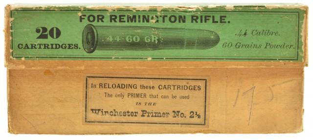 Seldom Seen Winchester 44-60 Full Box Ammo Circa 1880
