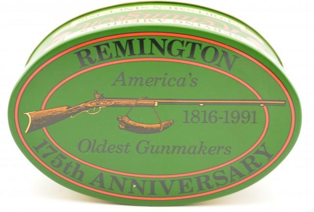 1991 Remington 175th Anniversary Tin 22 LR 325 Rounds Ammo
