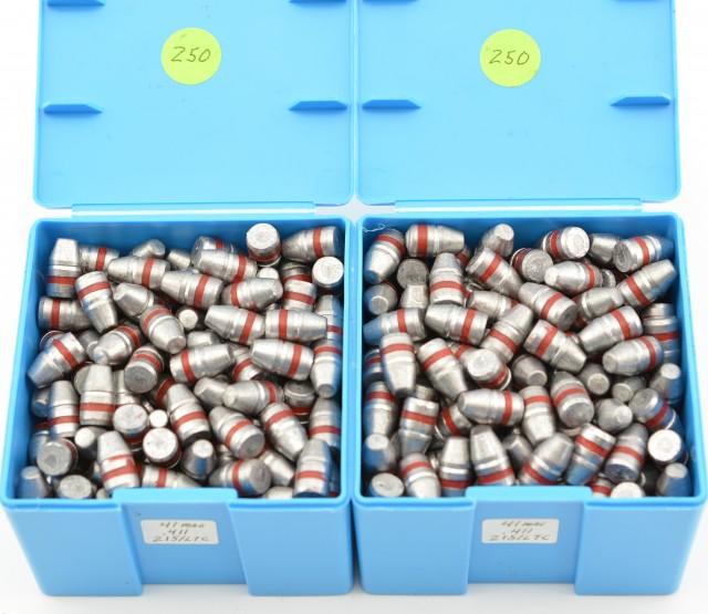Lot of 41 Magnum Reloading Bullets .411 Diameter 215 GR LTC 500 Count