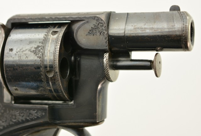 Engraved & Published Webley RIC Pre No. 1 Revolver by EM Reilly