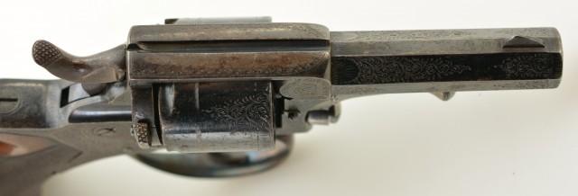 Tranter Model 1868 Solid-Frame DA Revolver