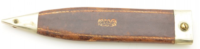 R. Bunting & Sons Sheffield England 7 Inch Bowie Hunting Knife