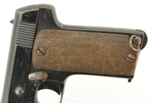 French Martian Contract Pistol by M. Bascaran