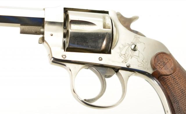 Hopkins & Allen No. 6 DA Revolver with Western Engraving