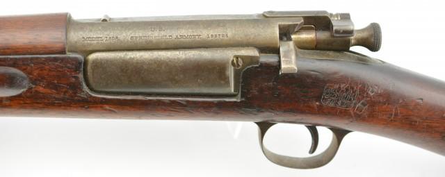 US Springfield Model 1898 Krag-Jorgensen Rifle with Bayonet