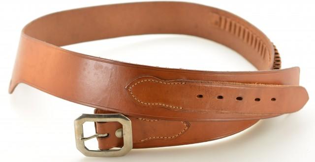 Vintage Size 48 Bianchi Gun Belt 38/357 Caliber Cartridge Loops