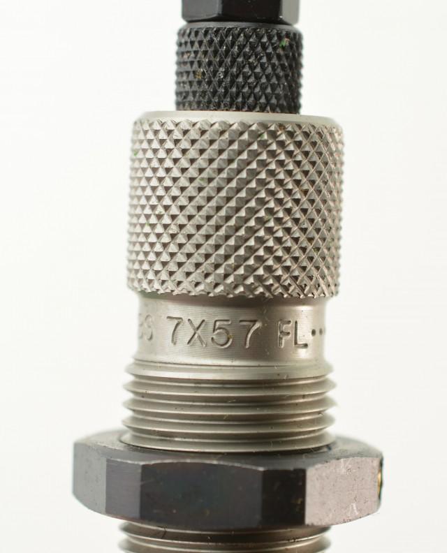 RCBS FL Die Set 7 x 57 Mauser Ammo Reloading #13801 & #3 Holder