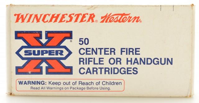 Excellent Full Box Winchester Super X 44 Rem Magnum 240 Gr. Lead Amm